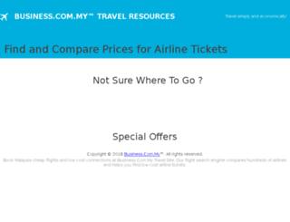 flights.business.com.my screenshot
