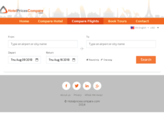flights.hotelpricescompare.com screenshot