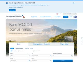 flights.usairways.com screenshot