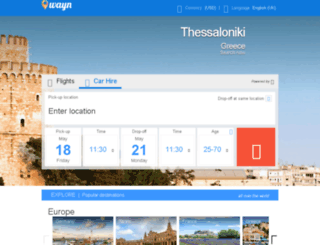 flights.wayn.com screenshot
