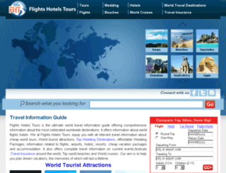 flightshotelstours.com screenshot