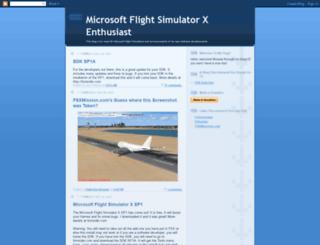 flightsimulatorxenthusiast.blogspot.de screenshot