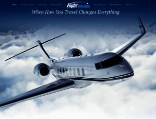 flightsolution.com screenshot