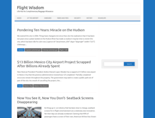 flightwisdom.com screenshot