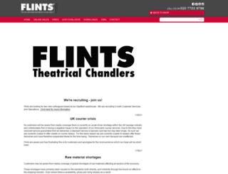 flints.co.uk screenshot