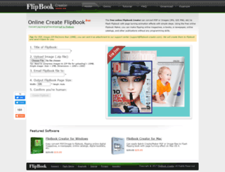 flipbook-creator.com screenshot