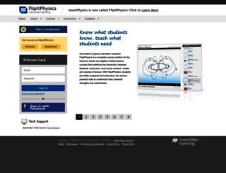 flipitphysics.com screenshot