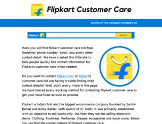 flipkart-customer-care.blogspot.in screenshot