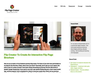 flippagecreator.com screenshot