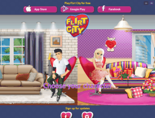 flirt-city.candygrill.com screenshot