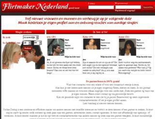 flirtmaker-nl.com screenshot