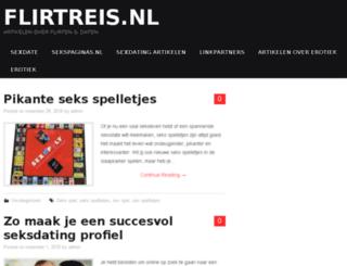 flirtreis.nl screenshot