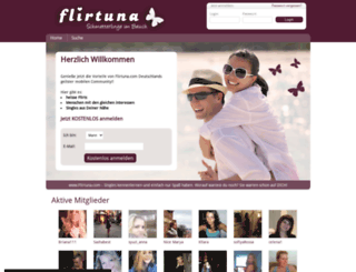 flirtuna.net screenshot