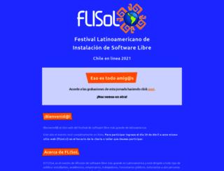 flisol.cl screenshot