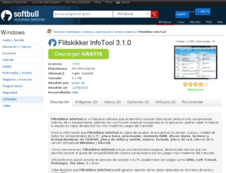 flitskikker-infotool.softbull.com screenshot