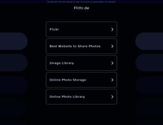 flittr.de screenshot