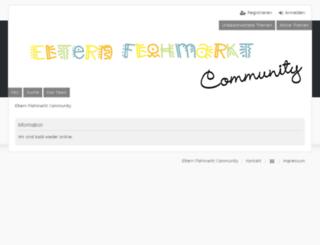flohmarkt-community.de screenshot
