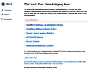 floodmaps.fema.gov screenshot