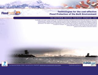floodprobe.eu screenshot