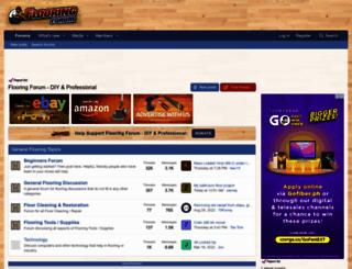 flooringforum.com screenshot
