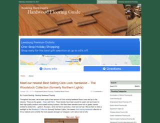 flooringguide.hoskinghardwood.com screenshot
