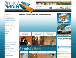 flooringmania.co.uk screenshot