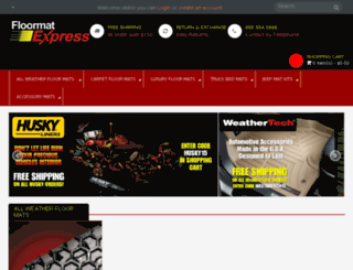 floormatexpress.com screenshot