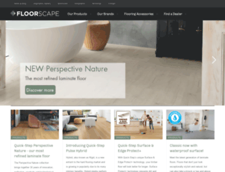 floorscape.co.nz screenshot