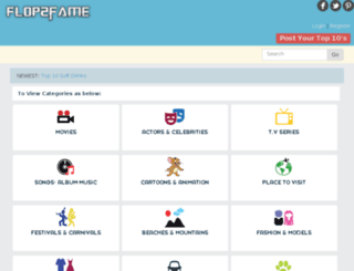 flop2fame.com screenshot