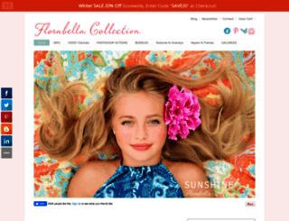 florabellacollection.com screenshot