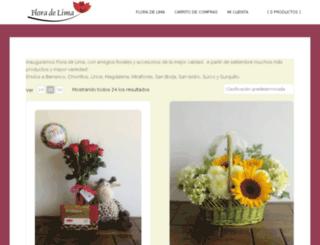 floradelima.com screenshot