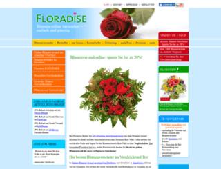 floradise.de screenshot