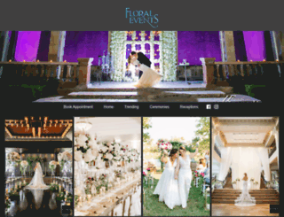 floralevents.com screenshot
