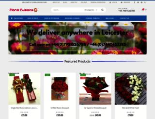 floralfusions.com screenshot