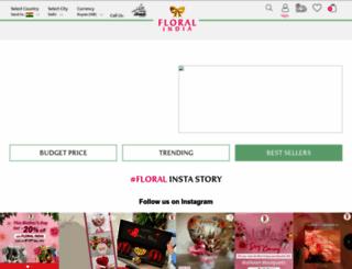floralindia.com screenshot