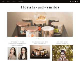 floralsandsmiles.blogspot.ca screenshot