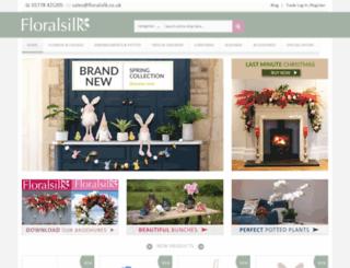 floralsilk.co.uk screenshot