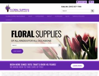 floralsupply.com screenshot