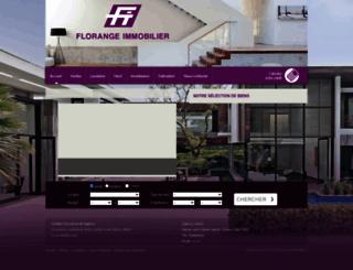 florangeimmo.com screenshot