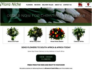 floraniche.co.za screenshot