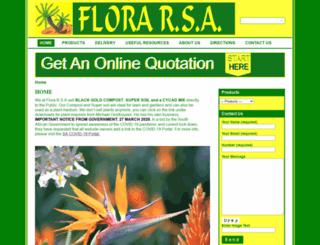 florarsa.co.za screenshot