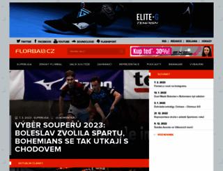 florbal.cz screenshot