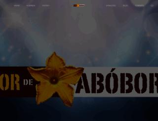 flordeabobora.com.br screenshot