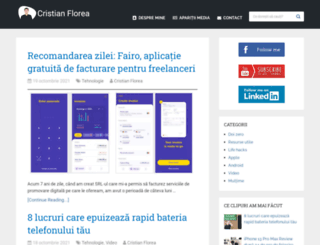 floreacristian.ro screenshot