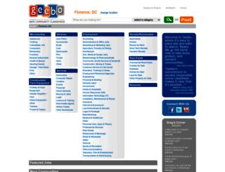 florence-sc.geebo.com screenshot