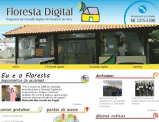 florestadigital.acre.gov.br screenshot