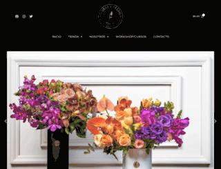 floresyfresas.com screenshot