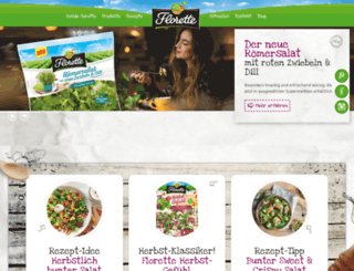 florette.de screenshot