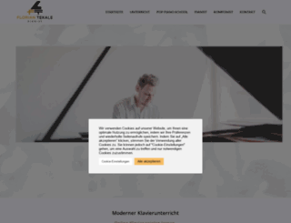 florian-tekale.de screenshot