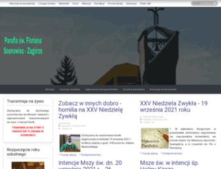 florian.sosnowiec.pl screenshot